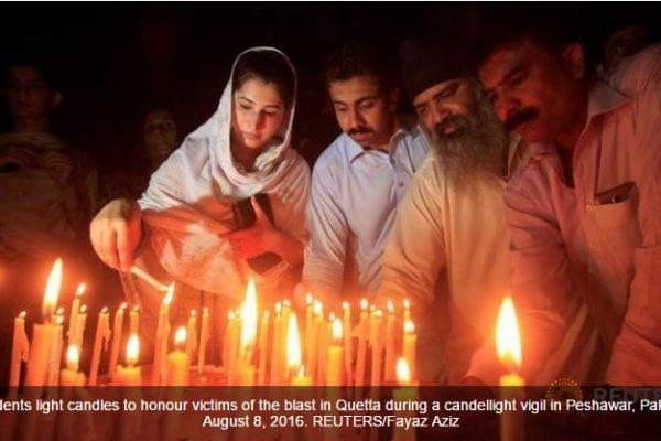 Daech revendique l'attentat de l'hôpital de Quetta ayant causé 70 morts et 112 blessés. Copie d'écran de Channel News Asia, le 9 août 2016.