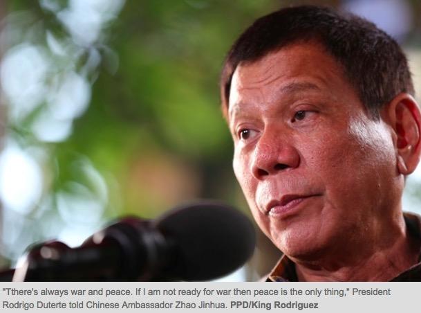 Copie d'écran du Philippine Star, le 29 août 2016.