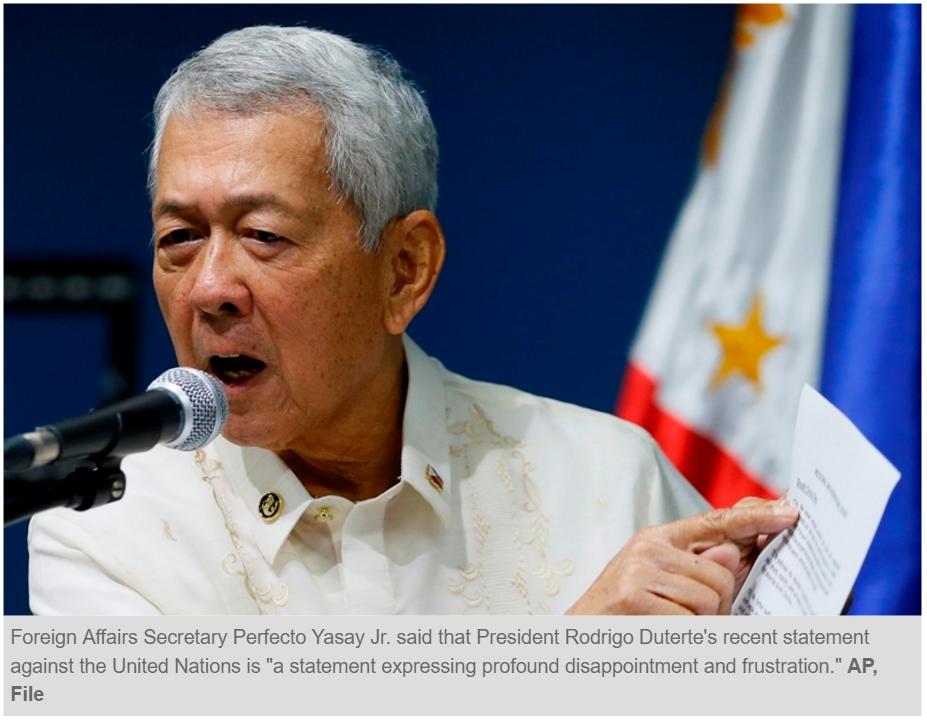 Photo du président philippin