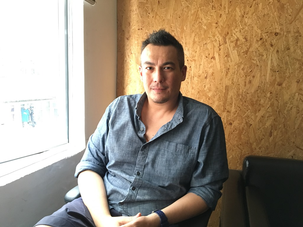 Le réalisateur hongkongais Koan Hui. (Copyright : Arnaud Lanuque)