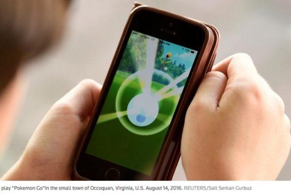Le gouvernement vietnamien bannit le jeu Pokémon Go de l'enceinte de ses bureaux et de ses sites sensibles. Copie d'écran de Reuters, le 18 août 2016.