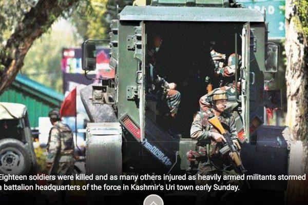 Dacca a affirmé que le Pakistan ne pourrait plus utiliser le territoire bangladeshi pour nuire à l'Inde. Copie d'écran d'India today, le 21 septembre 2016.
