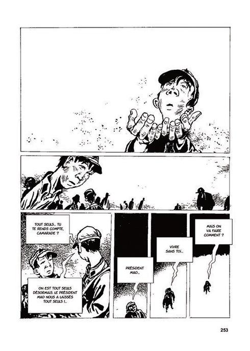 Extrait de Une vie chinoise – Version intégrale, scénario Philippe Otié et Li Kunwu, dessin Li Kunwu. 744 pages. (Crédit : DR.)