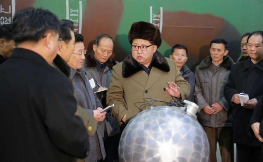 La Corée du Nord a procédé à son cinquième essai nucléaire, le plus important jamais conduit par Pyongyang. Copie d'écran du South China Morning Post, le 9 septembre 2016.