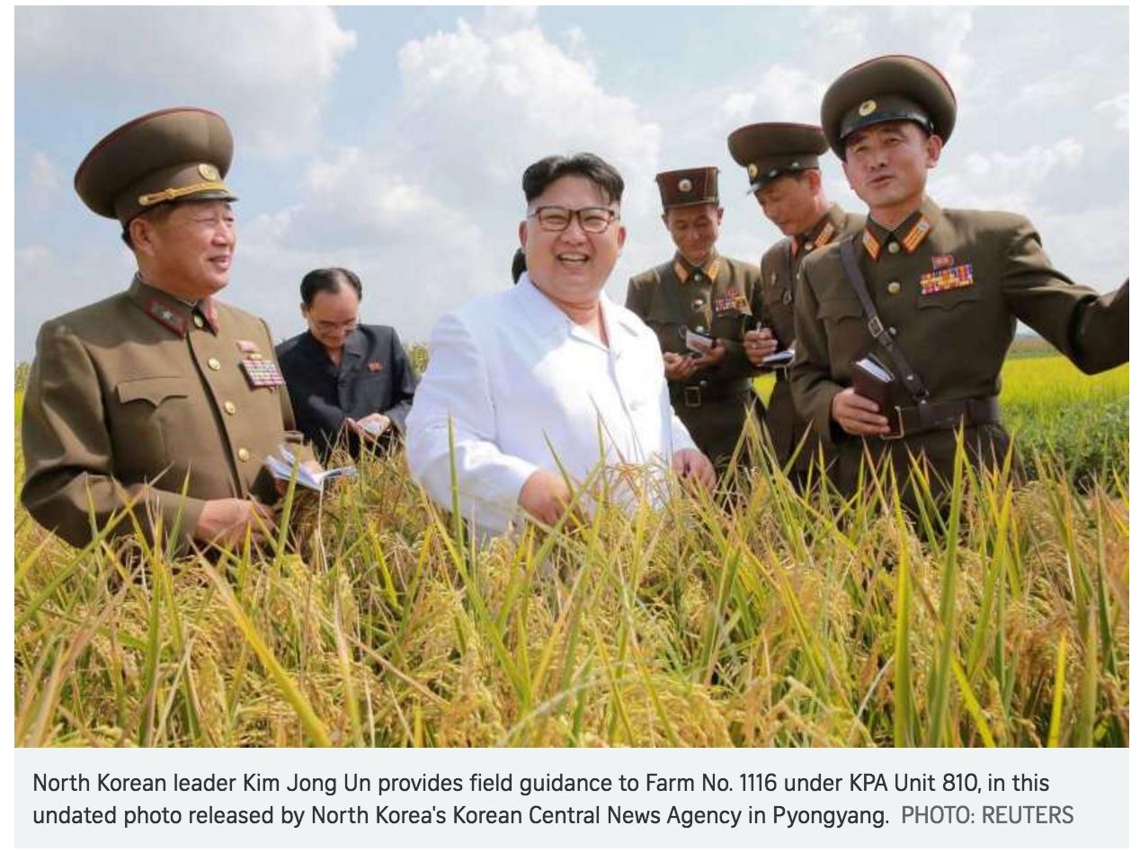 Si elle refuse des sanctions unilatérales, la Chine accepte de de travailler de concert avec les Nations Unies. Copie d'écran du Straits Time, le 15 septembre 2016.