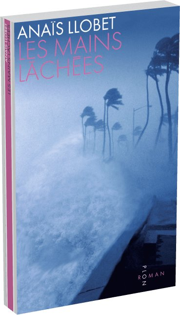 """La couverture du roman d'Anaïs Llobet, """"les Mains lâchées"""" (Plon, 2016)."""