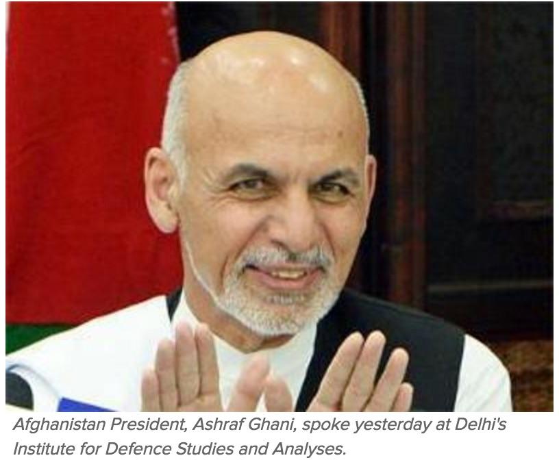 A l'origine du litige : Islamabad refuse d'autoriser la livraison par l'Inde d'une tonne sept de blé à l'Afghanistan. Copie d'écran du Times of India, le 15 septembre 2016.