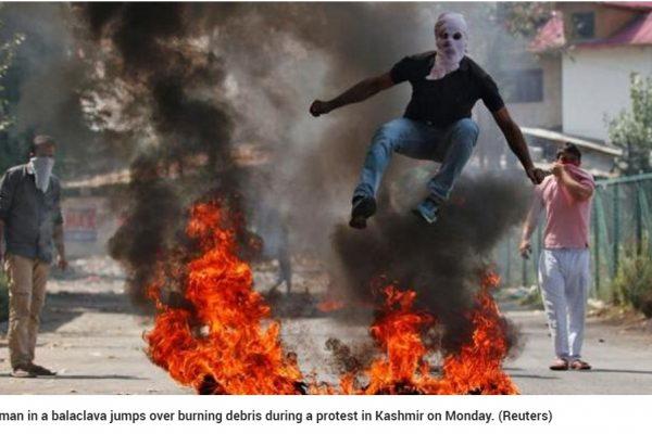 Pour la première fois, les principales mosquées du Jammu-et-Cachemire ont été fermées en plein Aïd el-Kébir, causant la colère des populations locales. Copie d'écran du Hindustan Times, le 13 septembre 2016.