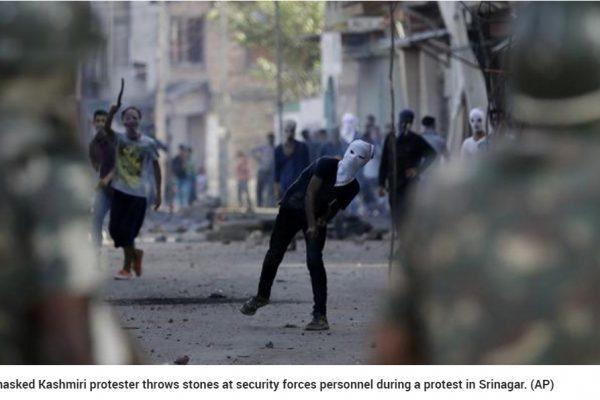 Voilà plus de 60 jours que le Cachemire indien est en proie à des tensions après la mort d'un militant séparatiste abattu par les forces de l'ordre. Copie d'écran du Hindustan Times, le 9 septembre 2016.