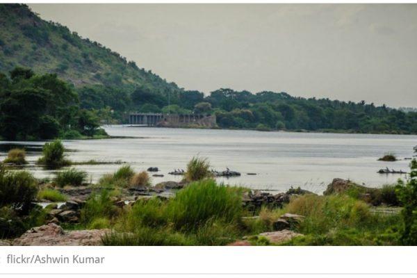 Les Etats indiens du Karnataka et du Tamil Nadu s'écharpent autour du fleuve Cauvery. Copie d'écran de Scroll.in, le 6 septembre 2016