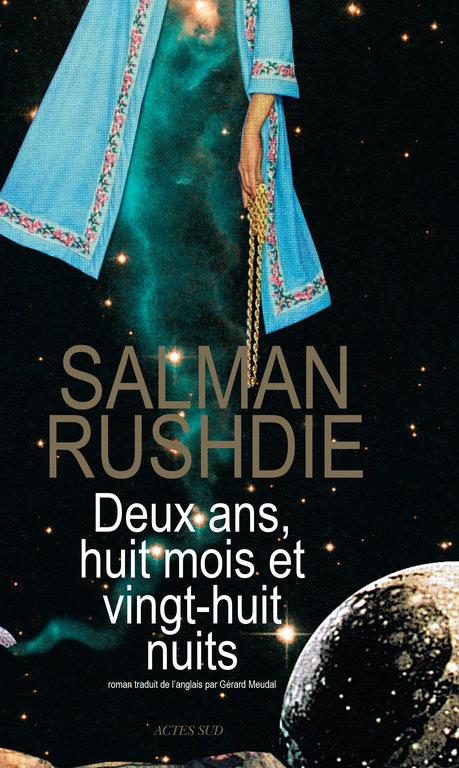 Couverture du dernier roman de l'écrivain Salman Rushdie.