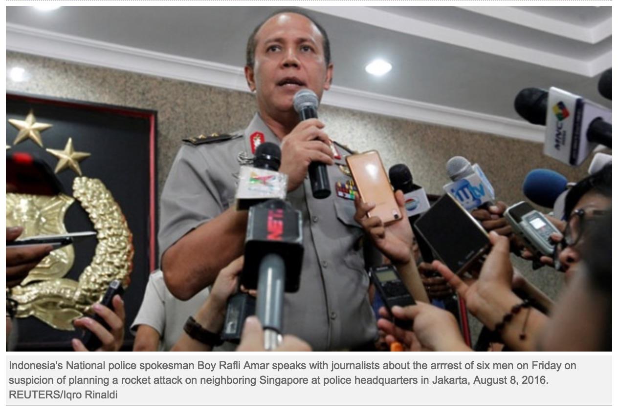 Au total, 500 Indonésiens se seraient déjà rendus en Syrie pour prendre les armes. Copie d'écran de Tempo, le 29 septembre 2016.