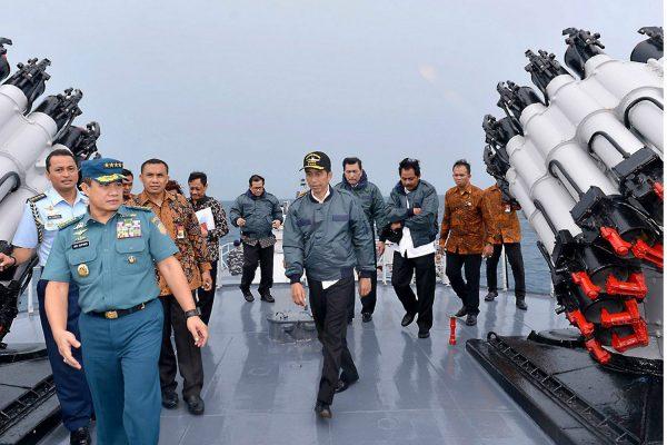 """La Chine revendique que ce territoire fait partie de sa """"zone traditionnelle de pêche"""". Une affirmation que réfute Jakarta. Copie d'écran du Jakarta Post, le 27 septembre 2016."""