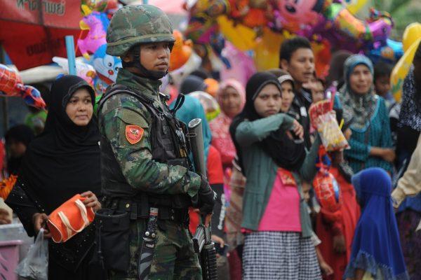 photo d'un soldat thailandais