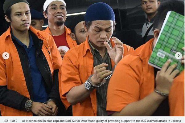 Le recul du groupe Etat-islamique au Moyen-Orient fait craindre à une recrudescence d'actes terroristes en Asie du Sud Est, région scrutée depuis longtemps par l'EI. Copie d'écran du Straits Times, le 26 octobre 2016.
