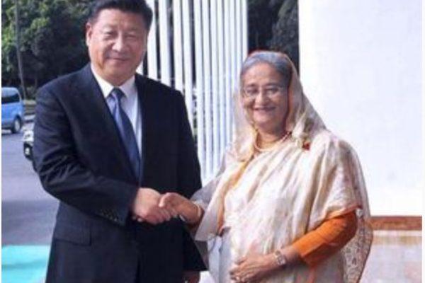 En signant un accord commercial avec Pékin, Dacca s'éloigne t-il de son allié indien? Copie d'écran de The Hindu, le 17 octobre 2016.