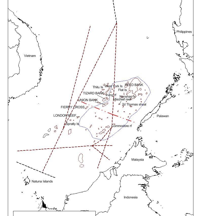 Cette carte conçue par le chercheur français François-Xavier montre les routes sous-marines secrètes découvertes par les Britanniques et les Américains des années 1920 à 1940.