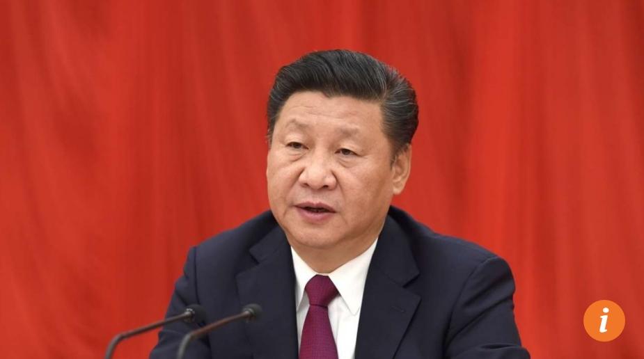 """Le statut de """"noyau"""" du parti, non codifié par les textes juridiques, confère à Xi Jinping un rôle plus élevé que son prédécesseur Hu Jintao. Copie d'écran du South China Morning Post, le 28 octobre 2016."""