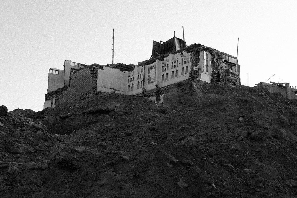 Restes de la vieille ville de Kashgar, 2010. (Crédit : Ma Kang).