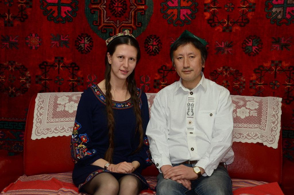 Zmulet et moi, Urumqi 2015. (Crédit : Ma Kang).