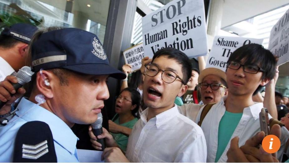 La détention de Joshua Wong en Thaïlande rappelle la disparition du libraire hongkongais Gui Minhai dans le même pays l'année dernière. Copie d'écran du South China Morning Post, le 5 octobre 2016.