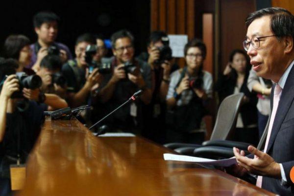 """Le Président du Legco, Andrew Leung Kwan-yuen, décrit son travail comme """"solitaire"""" après une session houleuse. Copie d'écran du South China Morning Post, le 19 octobre 2016."""