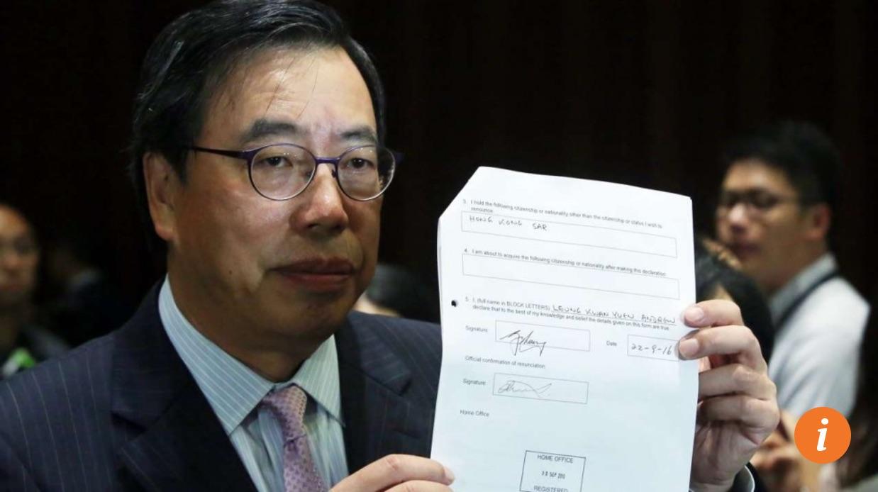 Les nouveaux députés devaient prêter serment et élire le président de Legco, le Parlement hongkongais. Copie d'écran du South China Morning Post, le 12 octobre 2016.