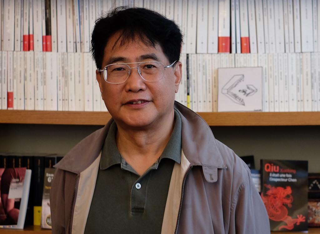 L'écrivain chinois Qiu Xiaolong.