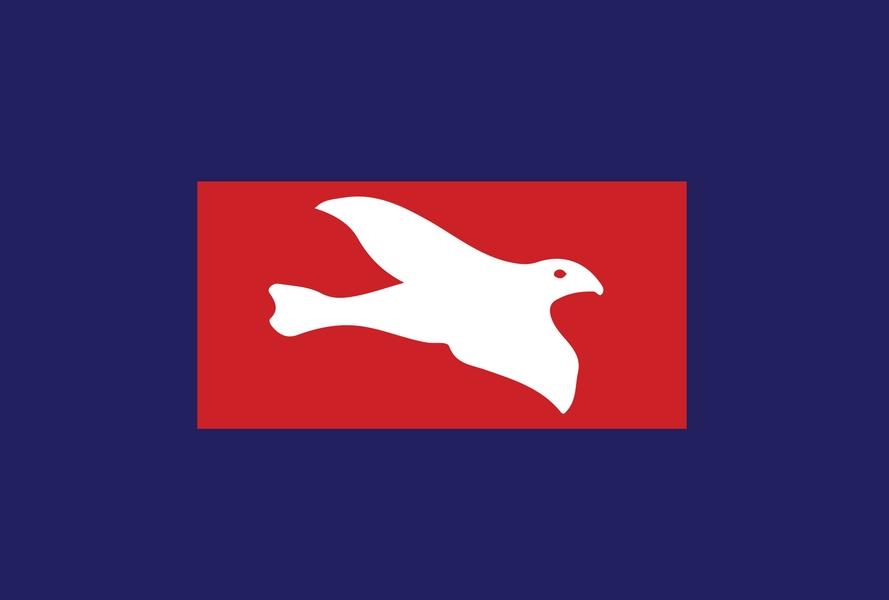 Drapeau du Freedomland. Crédit : domaine public, via Wikimedia commons.