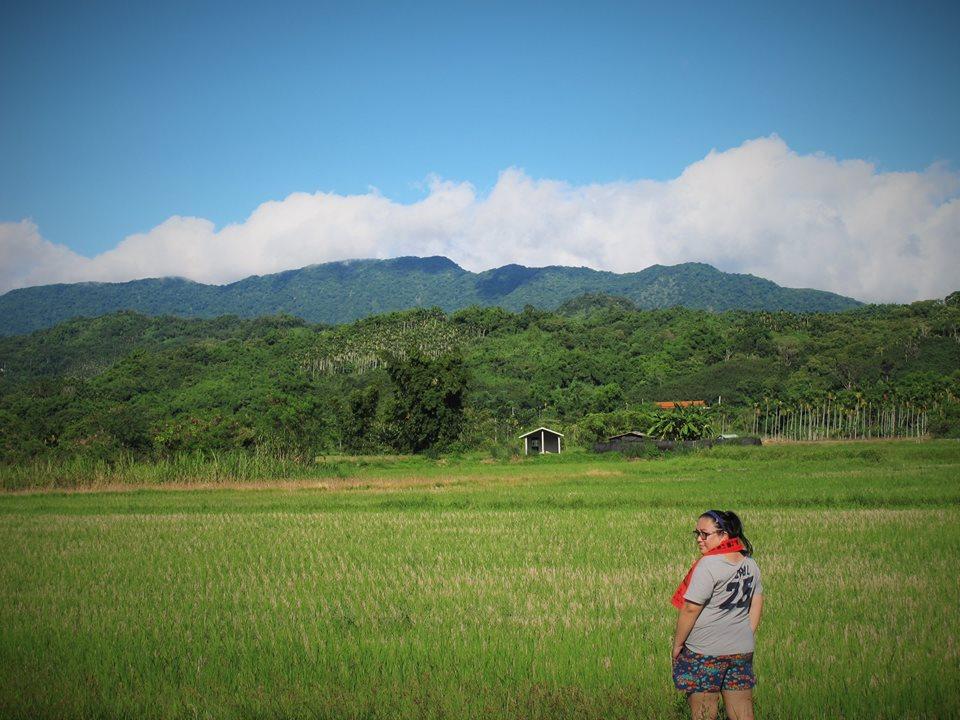Dongi Hamu a passé l'été dans sa tribu, où elle rêve d'ouvrir une auberge. (Crédit : Dongi Hamu).