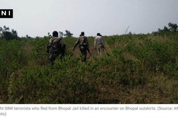 Complicité, abus de pouvoir… Le flou entoure toujours l'évasion des islamistes de la prison de Bhopal. Copie d'écran de The Indian Express, le 2 novembre 2016.