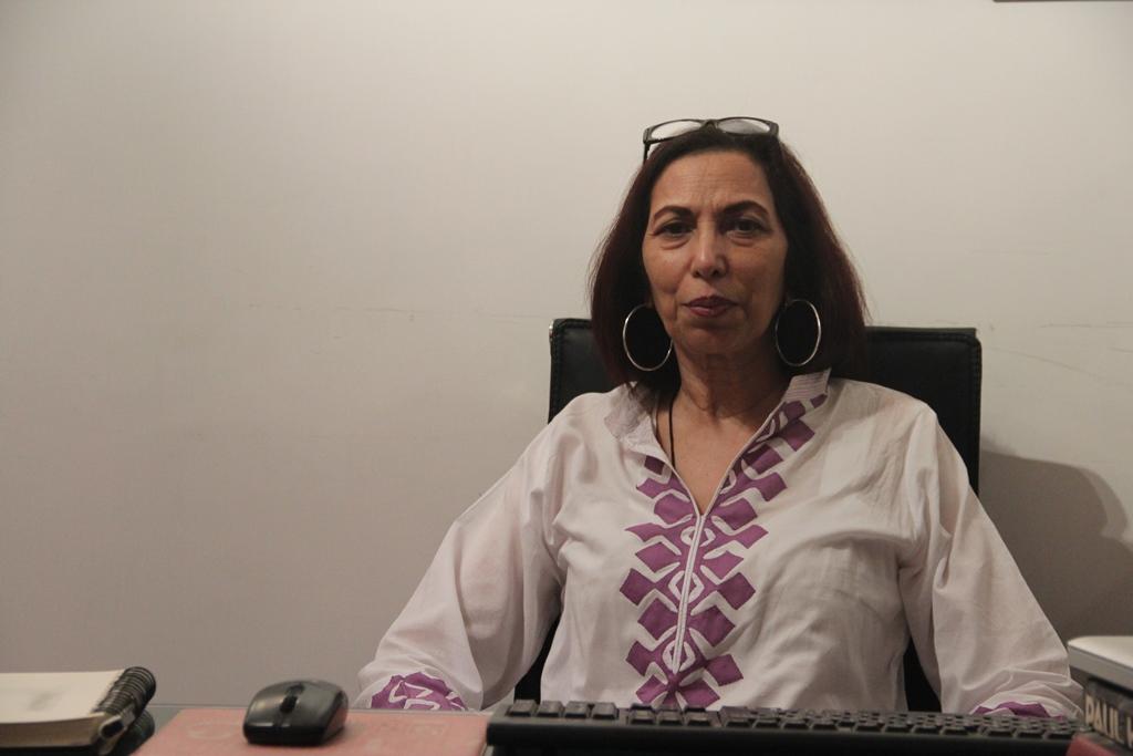 Nishat Mummunka, directrice de l'agence de voyage Indus Guides à Lahore au Pakistan.