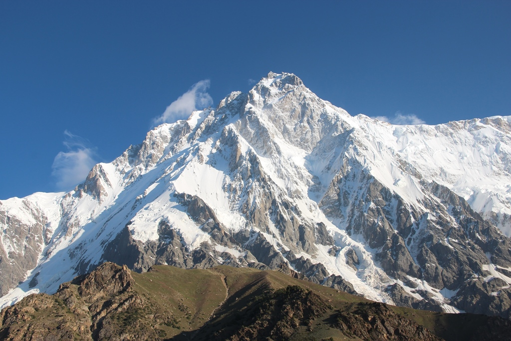 Le sommet du Nanga Parbat au Pakistan.