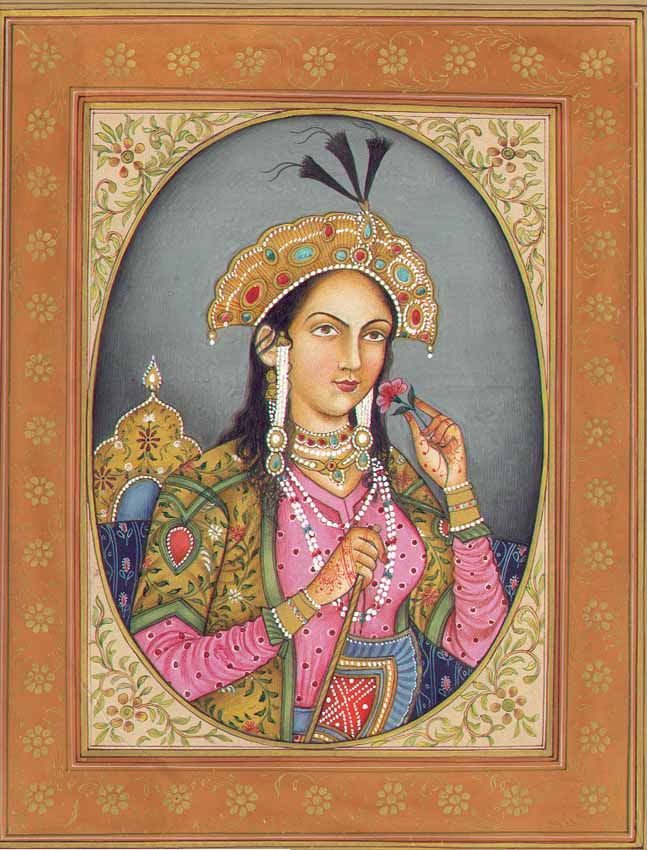 Mumtaz Mahal, la deuxième femme de l'empereur indien Shah Jahan, en l'honneur de qui il fit construire le Taj Mahal. (Source : Wikimedia)