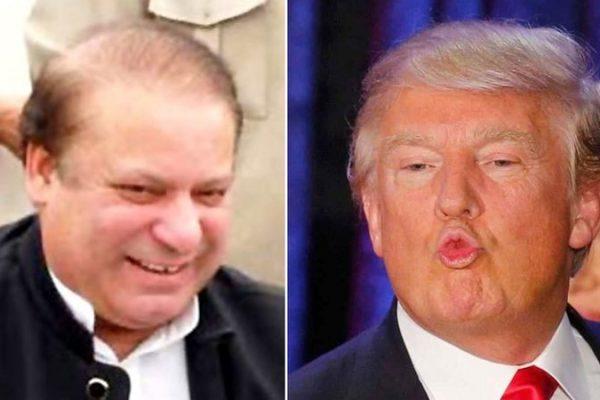 Contre toute attente, Donald Trump n'a pas tari d'éloges sur Nawaz Sharif. Copie d'écran de Dawn, le 1er décembre 2016.