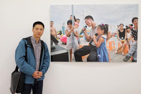 Le photographe chinois Zhang Xiaowu.