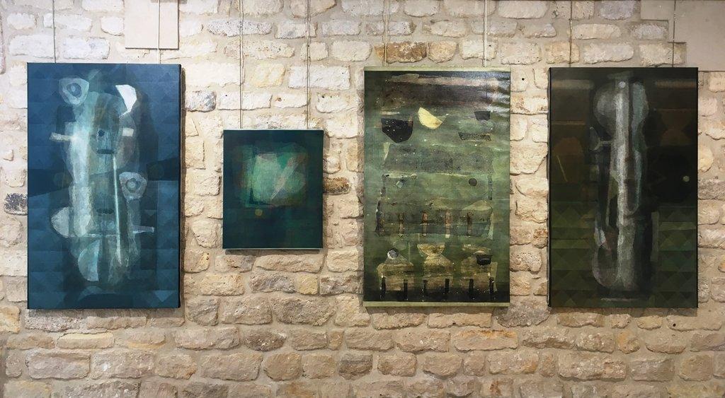 Manish Pushkale, vue de l'exposition à la Galerie Baudoin à Paris. (Copyright : Galerie Baudoin Lebon)