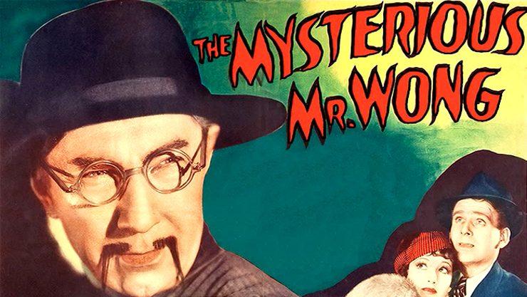 """Béla Lugosi dans le rôle titre de """"The Mysterious Mr. Wong""""."""