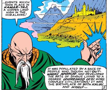 L'Ancien dans les comics originels. (Crédit : Marvel.).