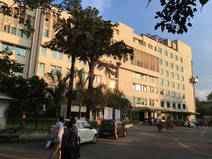 L'hôpital Sir Ganga Ram à New Delhi. (Crédits : DR)