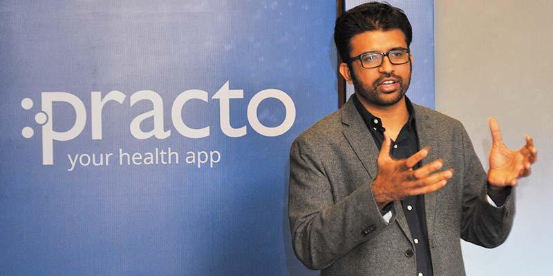Shashank ND, Pdg de Practo, entreprise de mise en relation de des patients avec les médecins et les hôpitaux.