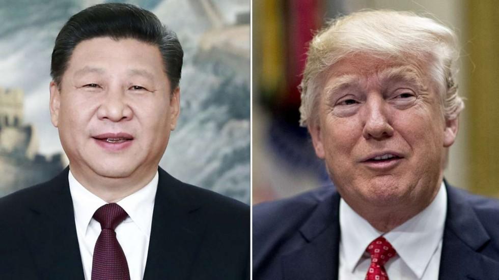 """Le mouvement de rapprochement est américain. En reconnaissant la """"politique d'une seule Chine"""", Donald Trump a finalement cédé aux appels du pied de Xi Jinping. Copie d'écran du South China Morning Post, le 10 février 2017."""