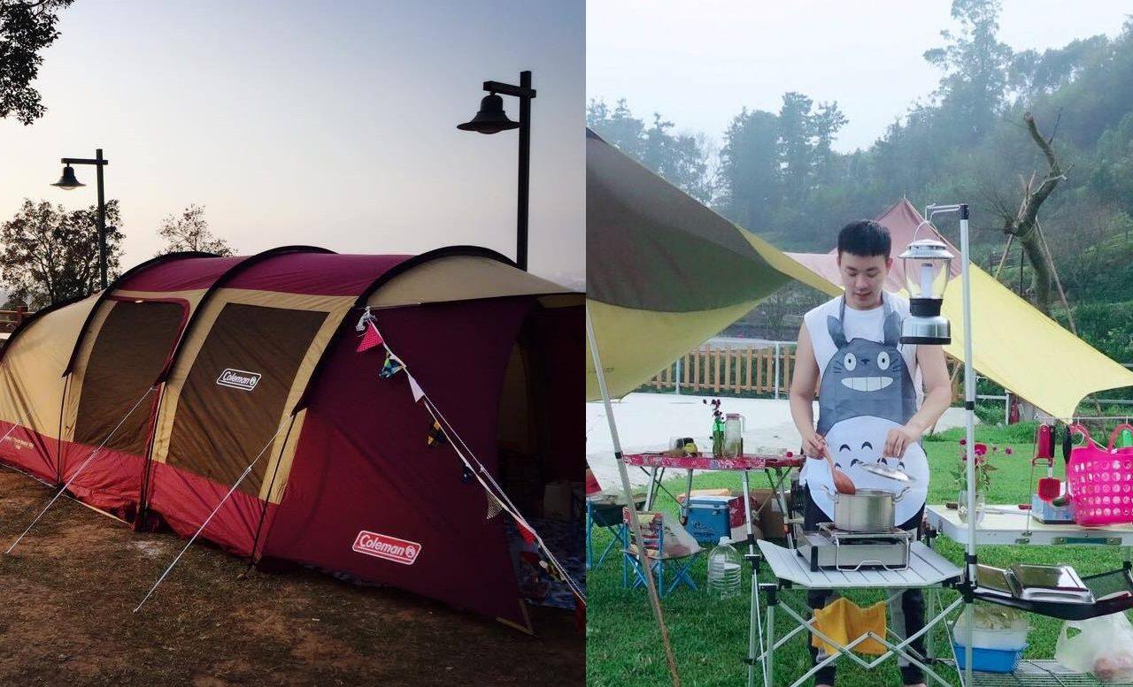 Le camping, nouveau loisir de plein-air des jeunes urbains taïwanais. (Copyright : Roger Tsai)