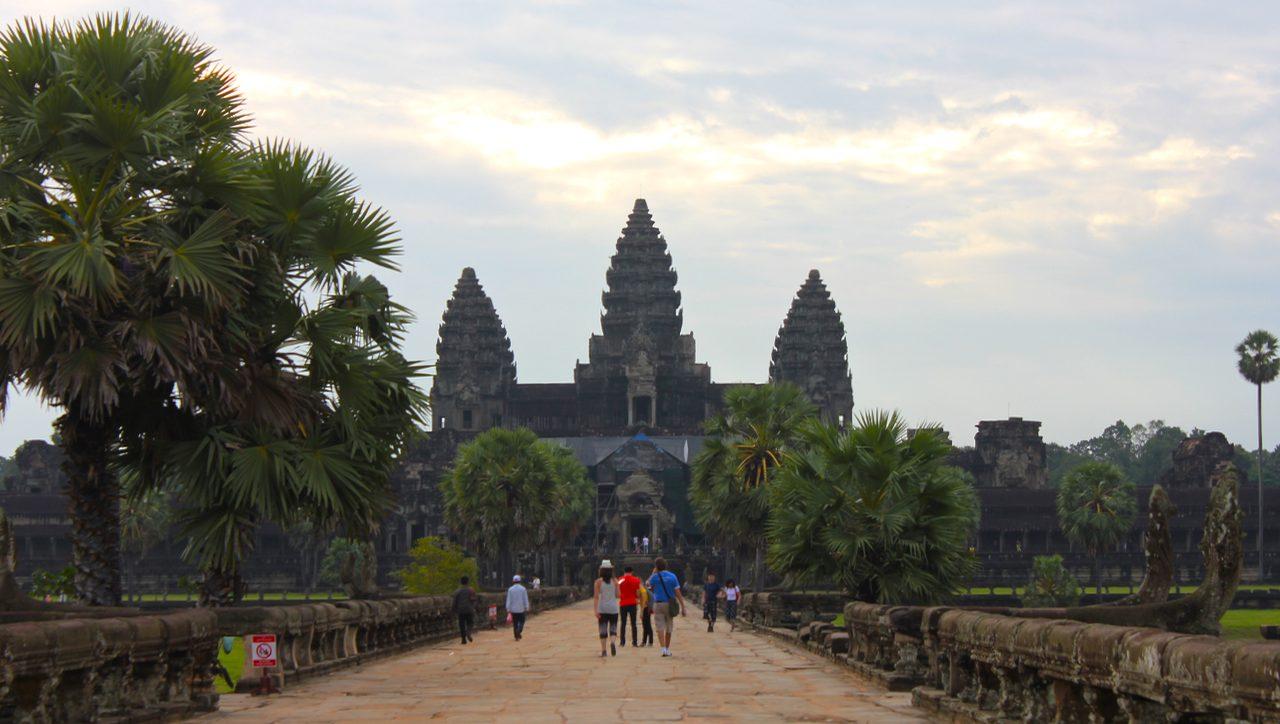 Angkor Vat constitue l'un des exemples architectural les mieux conservés de l'architecture khmère. (Copyright : Juliette Buchez, 2013)