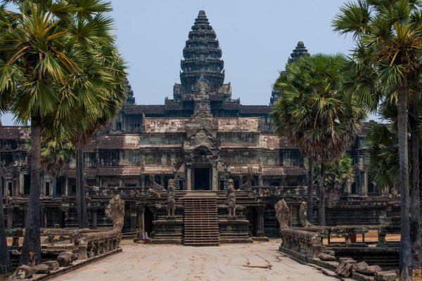 Le temple d'Angkor Wat à Siem Reap, au Cambodge. (Henn Photography / Cultura Creative / via AFP)