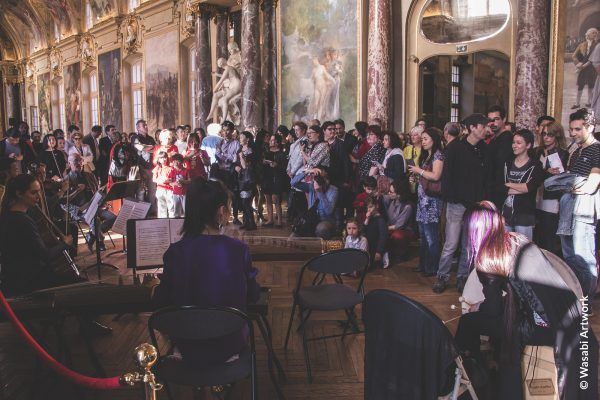 Inauguration du festival Made in Asia à la salle des illustres au Capitol de Toulouse le 18 avril 2017. (Copyright : Wasabi Artwork)