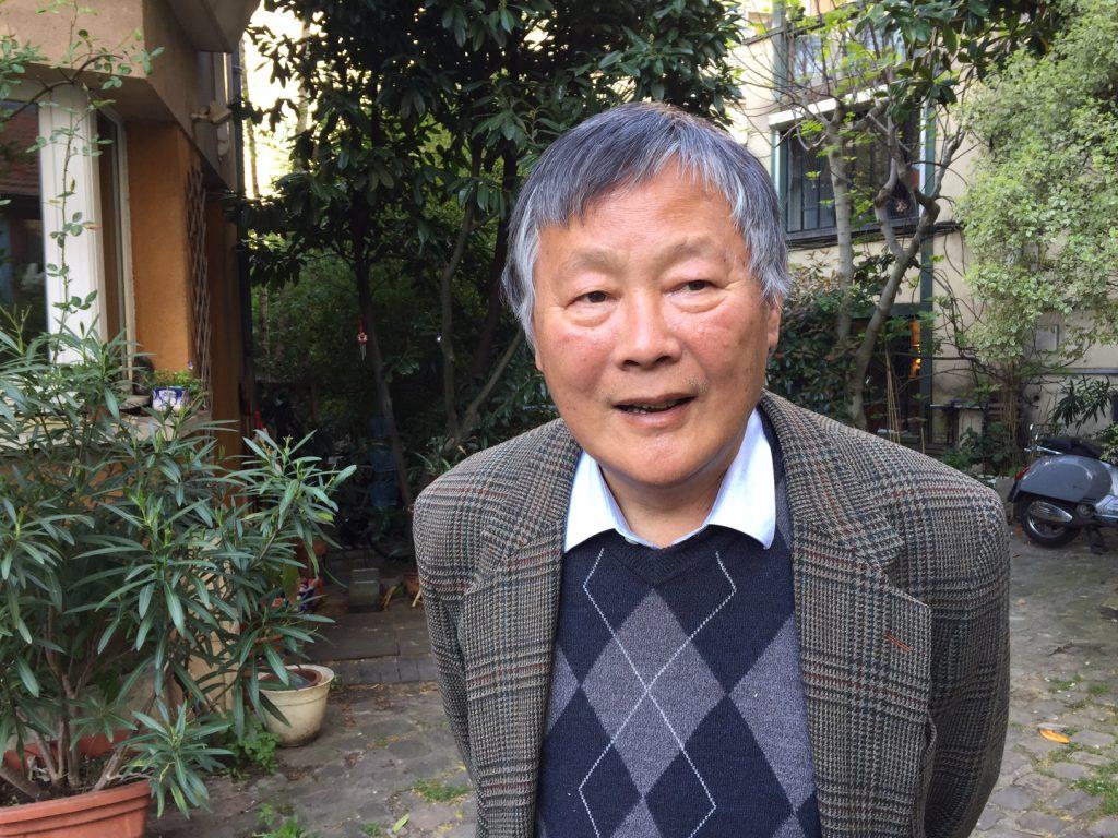 Le dissident chinois Wei Jingsheng. (Copyright : Joris Zylberman)