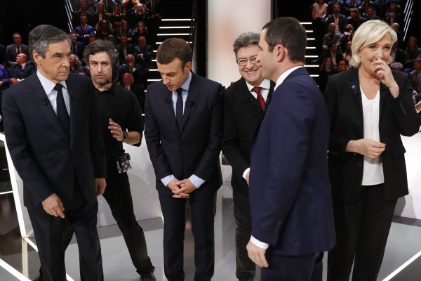 Les candidats à la présidentielle n'ont pas oublié de parler de l'Asie, mais moins pour esquisser une politique asiatique de la France que pour décrire leur conception de l'Hexagone. (Crédits : AFP PHOTO / POOL AND AFP PHOTO / Patrick KOVARIK)