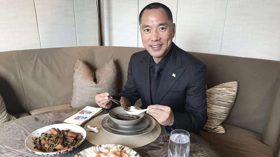 L'homme d'affaires chinois Guo Wengui, exilé aux Etats-Unis, est devenu la bête noire de Pékin après ses révélations sur la corruption dans l'immobilier en Chine.