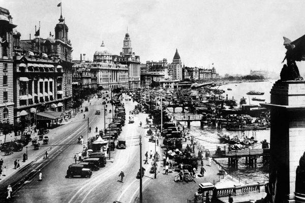Le Bund à Shanghai vers 1937. (Crédit : AFP PHOTO)